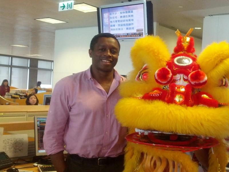 Godfrey Oyeniran - Expat in Hong Kong