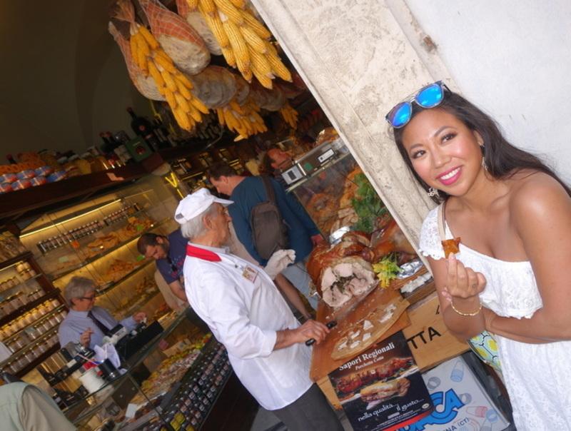 Jasmine Mah - Expat in Italy