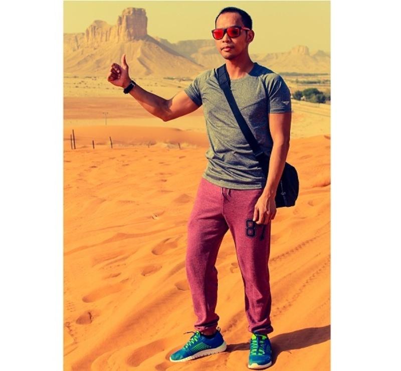 Sonyboy Fugaban - Expat in Riyadh, Saudi Arabia
